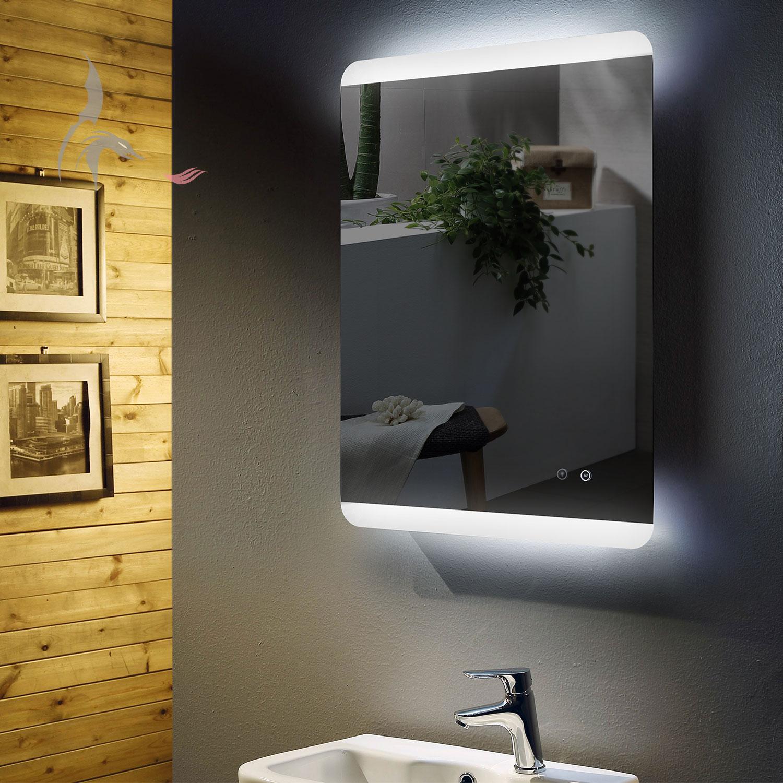 Led Bad Spiegel Antibeschlag Spiegelheizung Hoch Und Quer Fussen